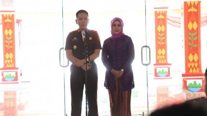 Sertijab Kajari Lampung Barat, Ini Harapan Bupati Parosil Kepada Kajari yang Baru