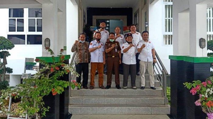 Kajati Lampung Menerima Kunjungan DPW GNP TIPIKOR Lampung