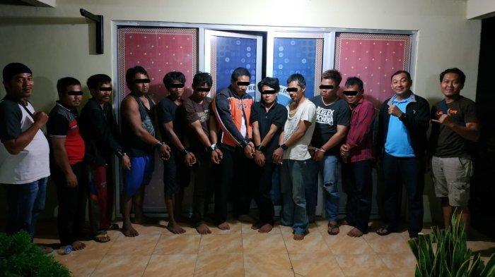 Pesta Sabu di Kantor, Kepala Kampung di Lampung Diringkus Polisi