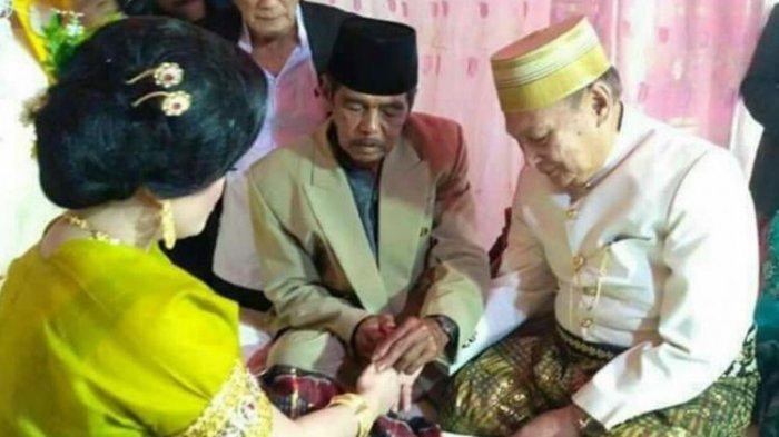 Pria 70 Tahun Nikahi Mahasiswi Berusia 25 Tahun dengan  Mahar Rp 1 Miliar