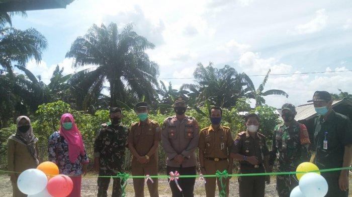 Kampung Kiling-kiling Way Kanan Resmi Jadi Kampung Tangguh Nusantara