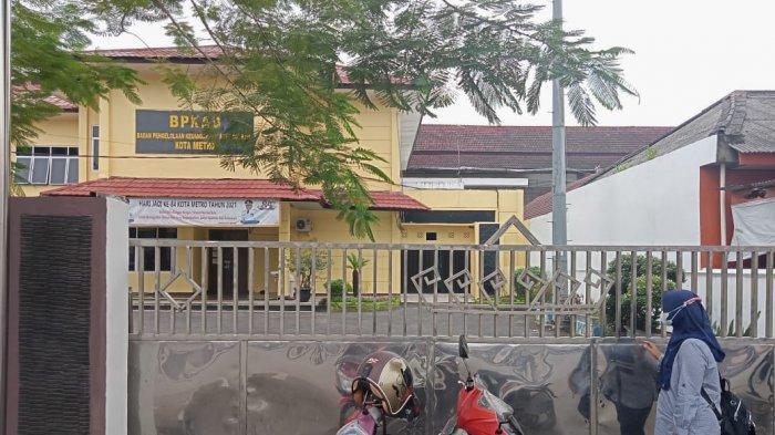 5 Staf Positif Covid-19, Kantor BPKAD Metro Tutup