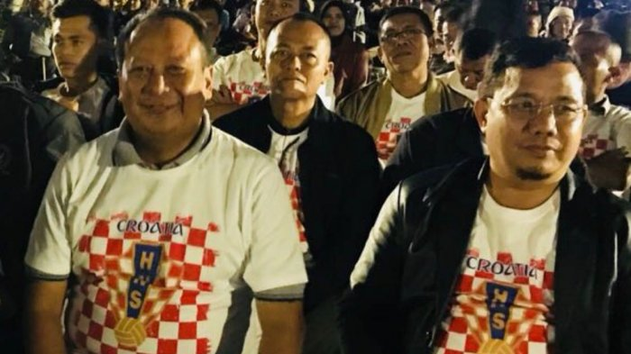 Final Piala Dunia 2018 - Kapolda dan Ketua DPRD Lampung Jagokan Kroasia