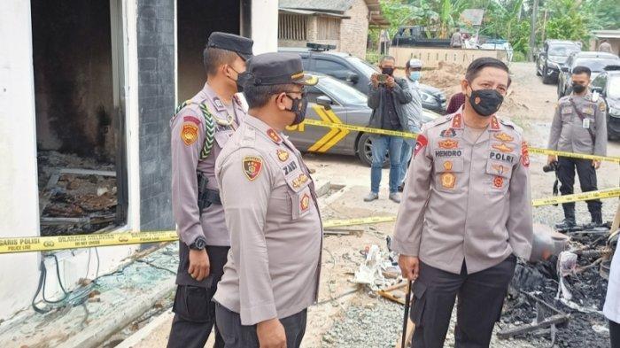 Kapolda Lampung Minta Provokator Pembakaran Mapolsek Candipuro Segera Menyerahkan Diri