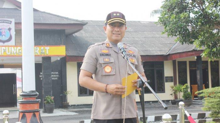 Asep Komara Naik Pangkat Jadi AKP, Ini Pesan Kapolres Lampung Barat