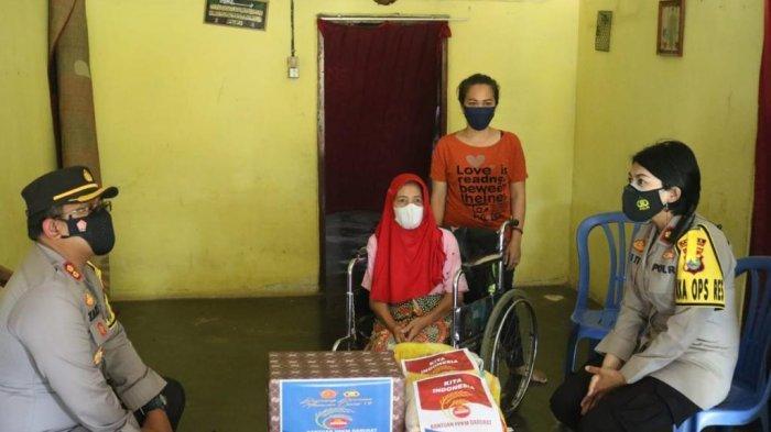 Polda Lampung Datangi Warga Dua Kali Tak Dapat BLT