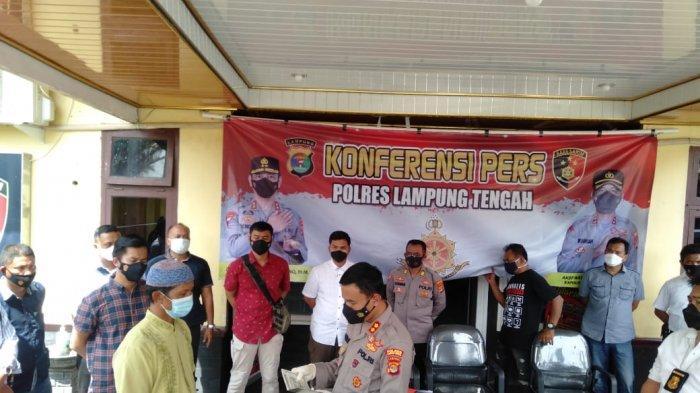 Polres Lampung Tengah Kembalikan Dua Unit Motor Hasil Curian