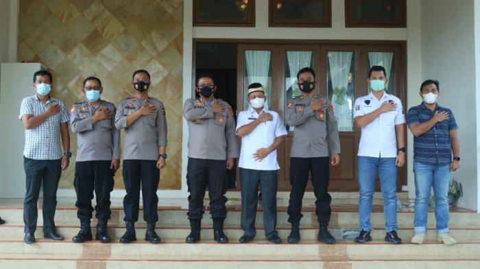 Bangun Sinergitas, Kapolres Sambangi Bupati Lampung Timur