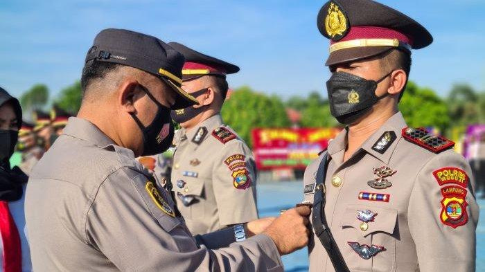 Kapolres Mesuji Ucapkan Selamat Datang untuk 3 Perwira Baru