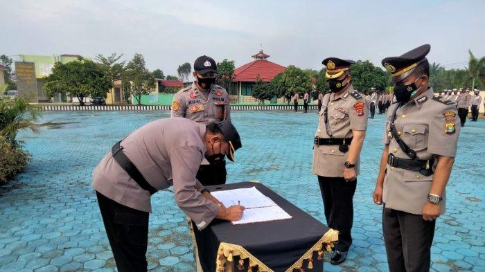 Kabagren Polres Mesuji Lampung Diisi Mantan Kapolsek Kota Agung