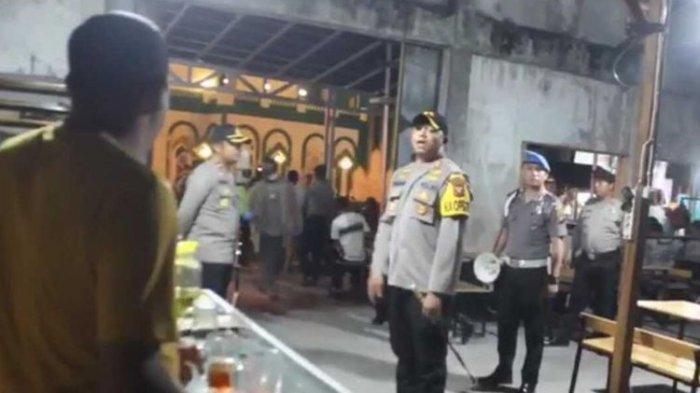 Kapolres Singkawang Razia Warung Kopi yang Tetap Buka di Tengah Wabah Corona
