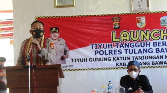 Tiyuh Gunung Katun Tanjungan Tubaba Lampung Jadi Tiyuh Tangguh Bersih Narkoba.