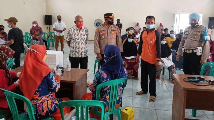 14.529 Warga Divaksin dalam Gerai Vaksin Polres Tuba Lampung