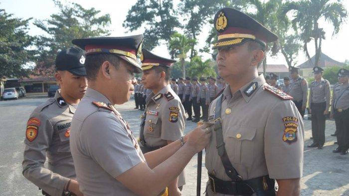 Empat Perwira Polres Tuba Dimutasi, Wakapolres Ditarik ke Polda Lampung