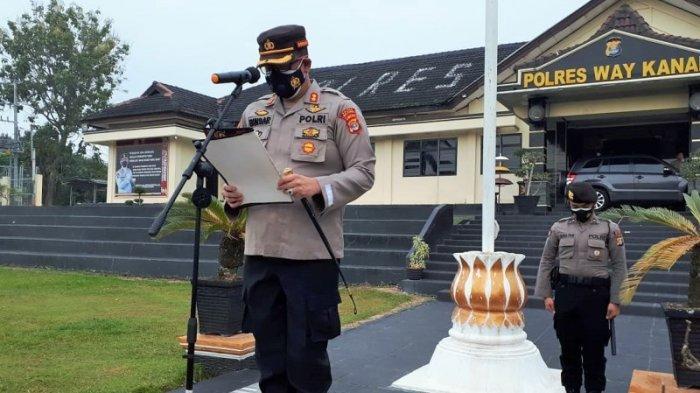 Kapolres Way Kanan Lampung Ajak Anggota Mampu Berprestasi Tingkatkan Pelayanan Masyarakat