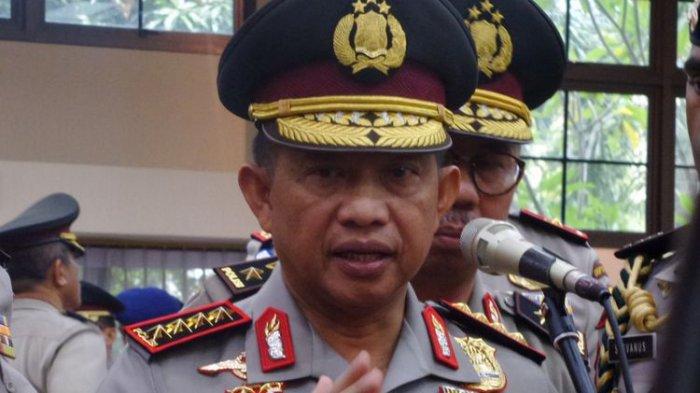 Presiden Jokowi Berhentikan Jenderal Polisi Tito Karnavian