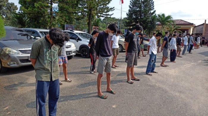 Kapolsek Sukarame: Remaja yang Terlibat Aksi Tawuran Perang Sarung Terancam Tidak Dapat Urus SKCK