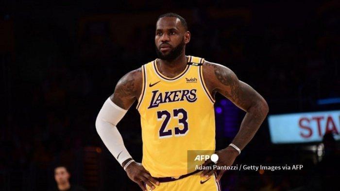 LeBron James Ikuti Pemusatan Latihan Mini Jelang Jadwal NBA 2021