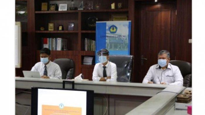 Rektor Universitas Lampung Karomani Serahkan Surat Keputusan (SK) 14 Dosen CPNS Unila