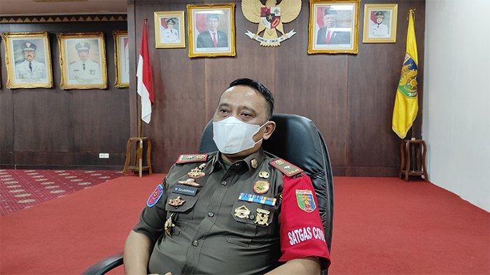 Kasat Pol PP Provinsi Lampung Minta Seluruh Jajaran Humanis dalam Menegakkan Peraturan