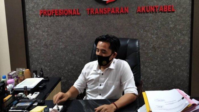 Pria Perusak Kantor Bawaslu Digiring ke Mapolresta Bandar Lampung