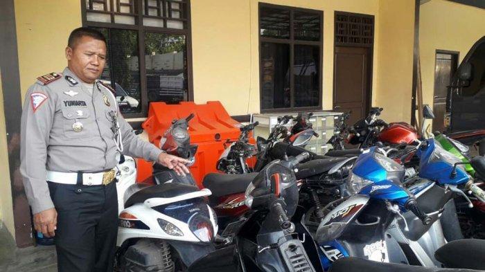 Operasi Patuh Krakatau, 2.005 Pelanggar Ditilang Polres Tanggamus, Tertinggi Tidak Pakai Helm