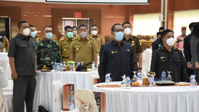 Mayor Inf Andri Kusuma Hadiri Kunjungan Studi Strategis Dalam Negeri Lemhanas RI