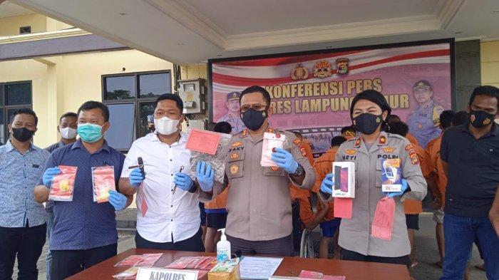 Dari 37 Laporan, Polres Lampung Timur Berhasil Ungkap 22 Kasus