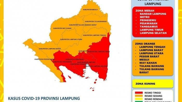 Hari Terakhir PPKM, Ada Penambahan 472 Kasus Covid-19 di Lampung