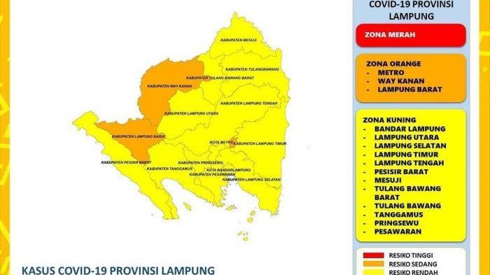 Grafik Mulai Menurun, Hari Ini Ada 92 Kasus Covid-19 di Lampung