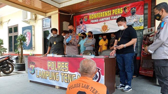 BREAKING NEWS Tekab 308 Polres Lampung Tengah Amankan Pelaku Pembunuhan di Jalintim Terbanggi Besar