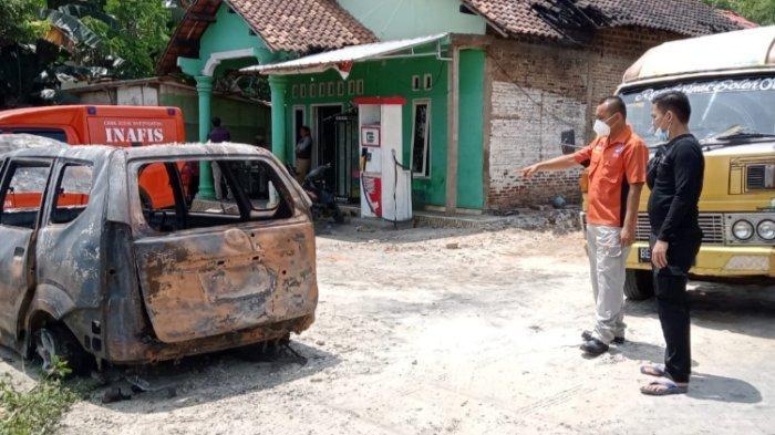 Polres Lampung Selatan Ungkap Penyebab Mobil dan Toko terbakar di Natar