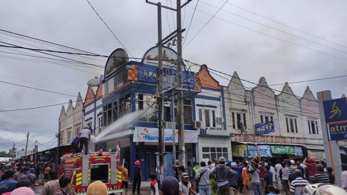 Bank Lampung Kota Agung Terbakar Hebat, Bagaimana dengan Uang Nasabah?