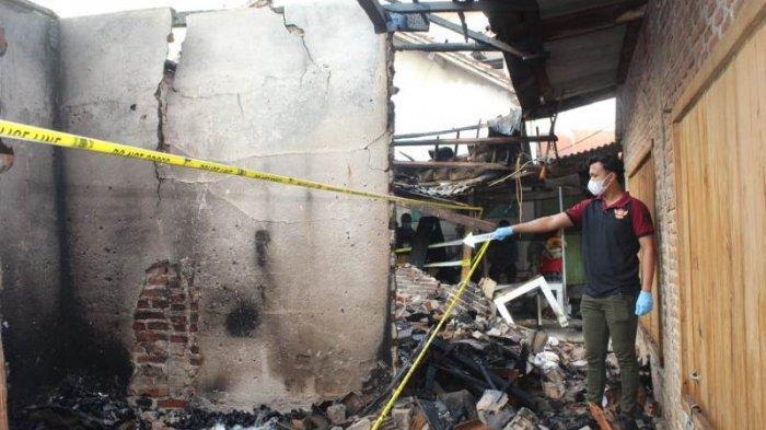 Kebakaran di Pasar Balok Pringsewu Diduga Akibat Korsleting Listrik