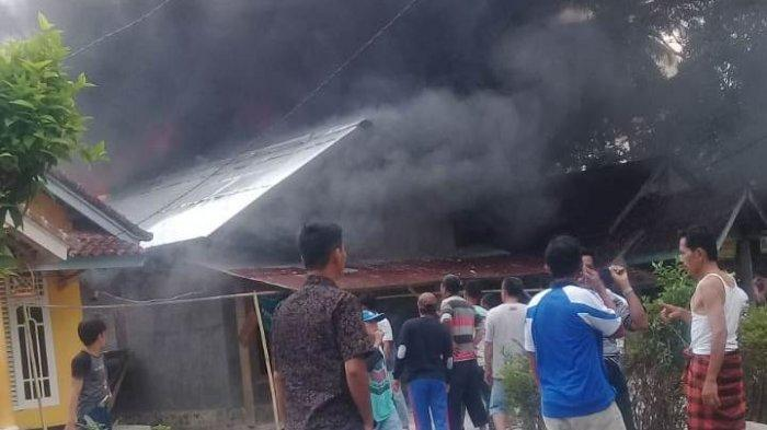 Gara-gara Lupa Rebus Air, Rumah Warga Pesisir Barat Ludes Terbakar