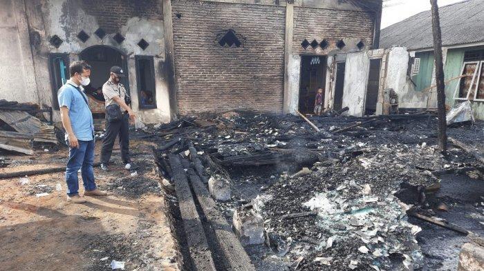 Polisi Beberkan Penyebab Kebakaran Kantor PT MAMS di Tulangbawang