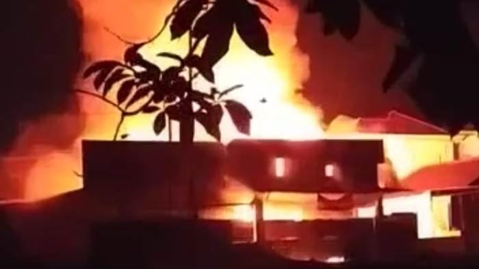 Kerugian Kebakaran di Tanjung Bintang Lampung Selatan Ditaksir Rp 450 Juta