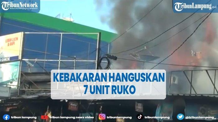 Kebakaran Hanguskan 7 Ruko di Jakarta Timur, Pemiliknya Rugi hingga Rp 2,5 M