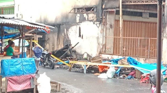 Kiosnya Terbakar, Pedagang Pasar Talang Padang Berharap Bantuan Sembako