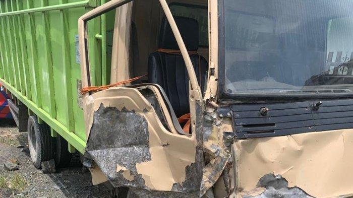 Picu Kecelakaan Beruntun di Pesawaran, Sopir Colt Diesel Malah Kabur