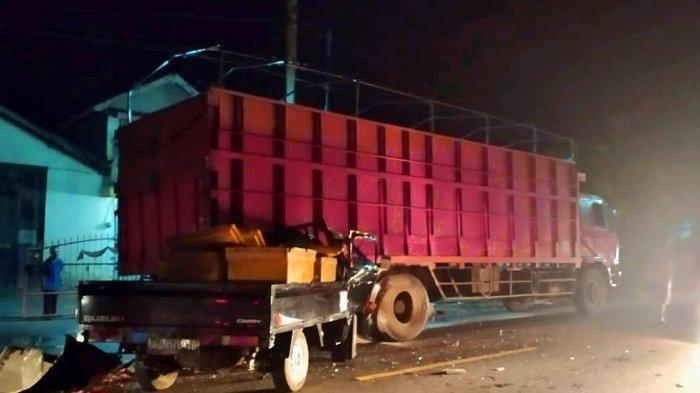BREAKING NEWS Kecelakaan Maut di Jalinsum Lampung Selatan, 1 Orang Tewas