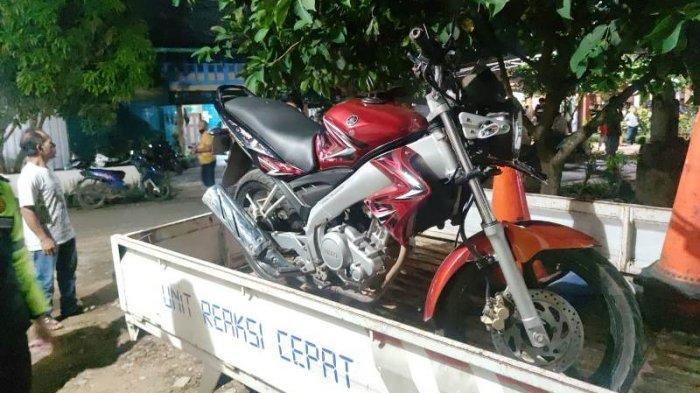 Kecelakaan di Pesawaran, Tabrak Honda Revo Pengendara Yamaha Vixion Tewas di Tempat