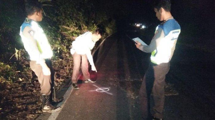Kecelakaan Maut di Jalinsum Baradatu, Pemotor Tewas Ditabrak Bus