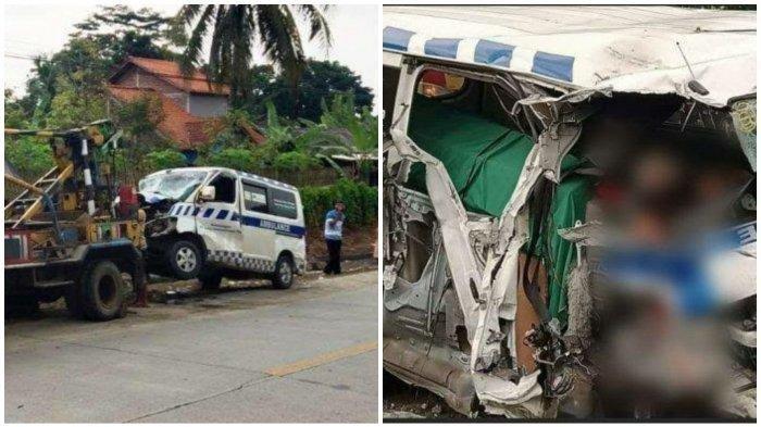 Kecelakaan Maut Mobil Ambulans Bawa Jenazah Tabrak Truk, Sopir Tewas di Tempat