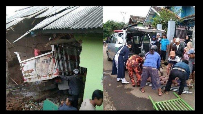 Truk Tabrak Madrasah di Garut, 2 Orang Tewas