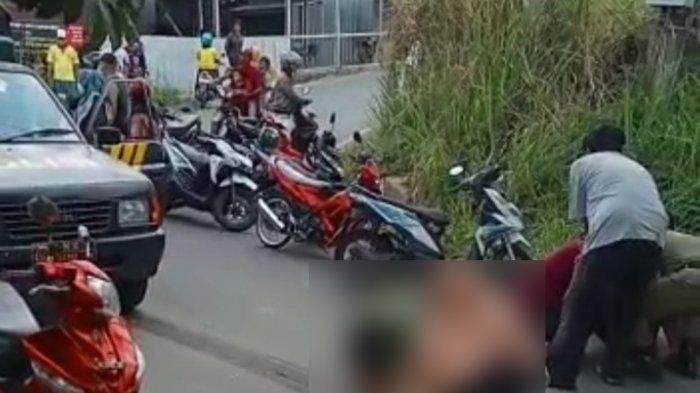 Kecelakaan Maut di Bandar Lampung, Ibu Korban Menangis di Lokasi Kejadian
