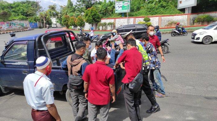 Kecelakaan Supra Fit vs Beat, Andri Terkapar 2 Menit di Tengah Jalan Diponegoro