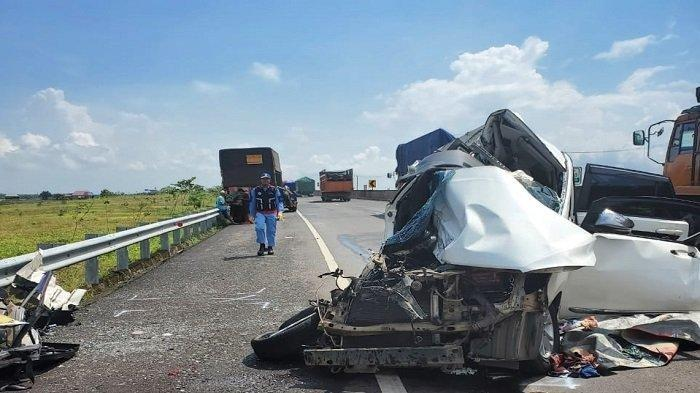 Kecelakaan Maut di Tol Kayuagung, 3 Orang Tewas di Tempat