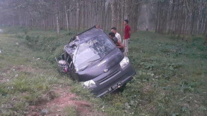 Polisi Sebut Mobil Pikap Alami Kecelakan Tunggal di Tanjung Bintang