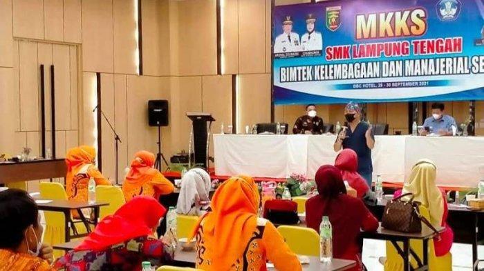 Disdikbud Lampung Ingatkan Kepsek SMK di Lampung Tengah Kedepankan Prokes Selama PTM
